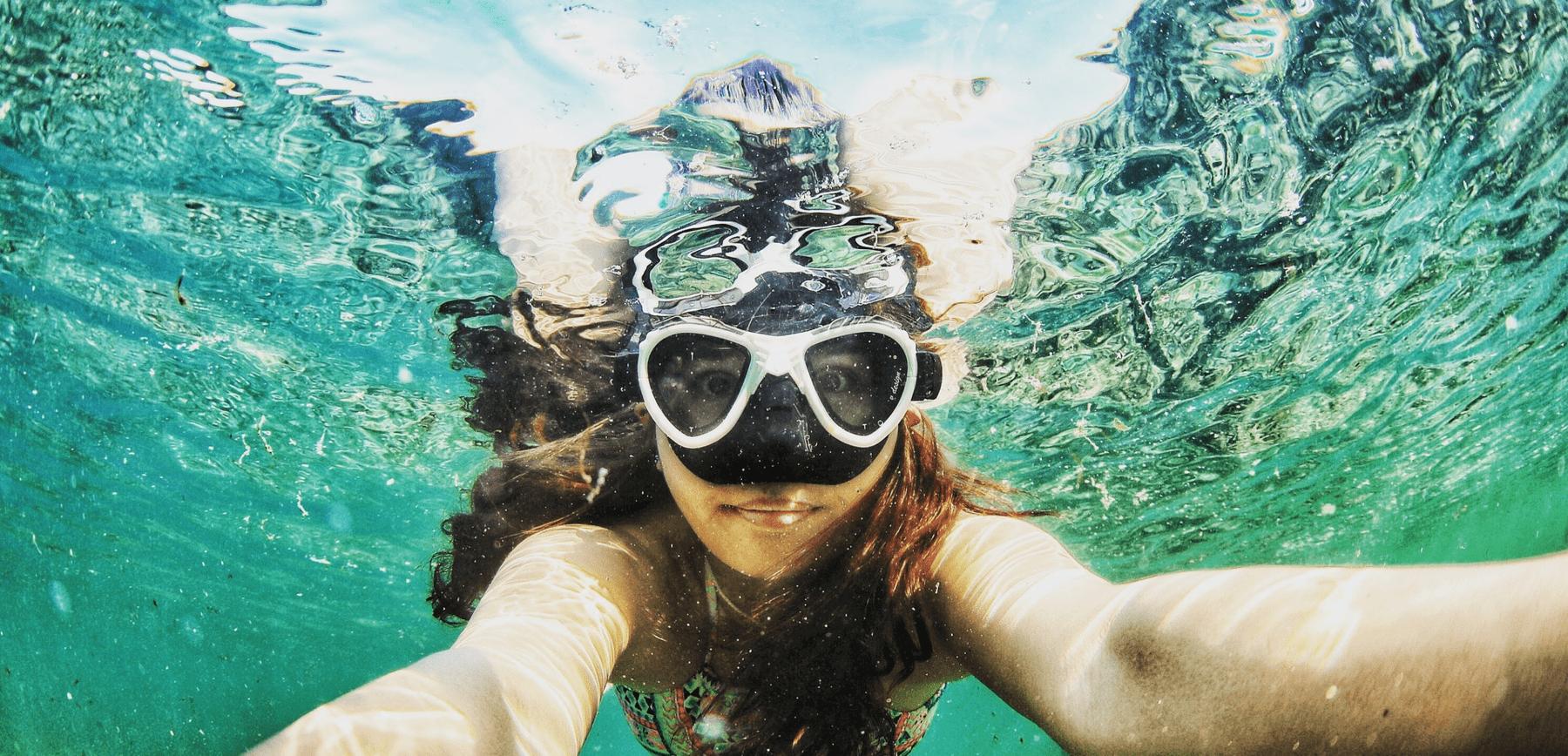 Beeld deep dive onderstroom